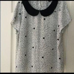 Torrid Star blouse size 2